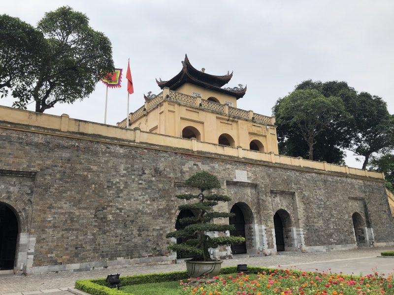 ベトナムのハノイ旅行記4日間の1〜2日目【2019年6月】ハノイのタンロン遺跡