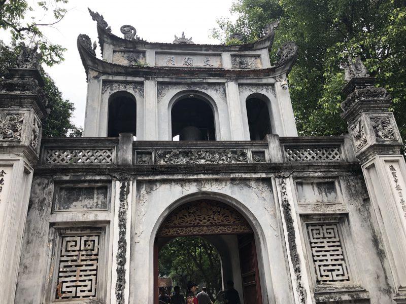 ベトナムのハノイ旅行記4日間の1〜2日目【2019年6月】ハノイの文廟