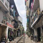 ベトナムのハノイ旅行記4日間の3〜4日目【2019年6月】の線路