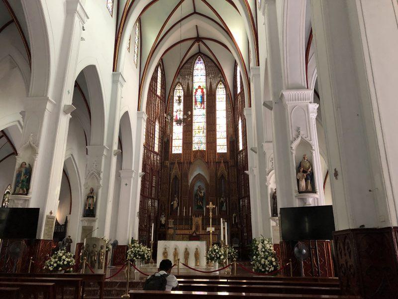ベトナムのハノイ旅行記4日間の3〜4日目【2019年6月】の聖ヨセフ大聖堂
