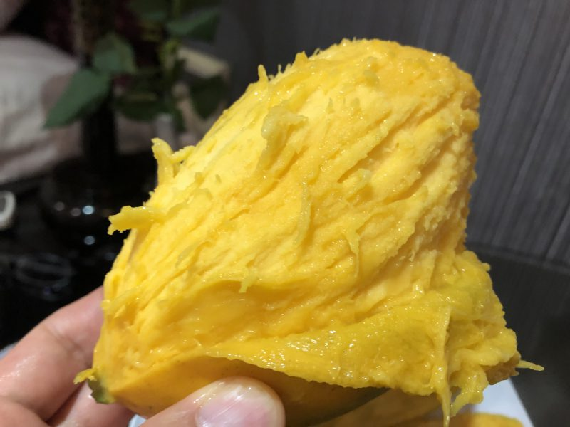 ベトナムのハノイ旅行記4日間の3〜4日目【2019年6月】の路上で買ったマンゴー