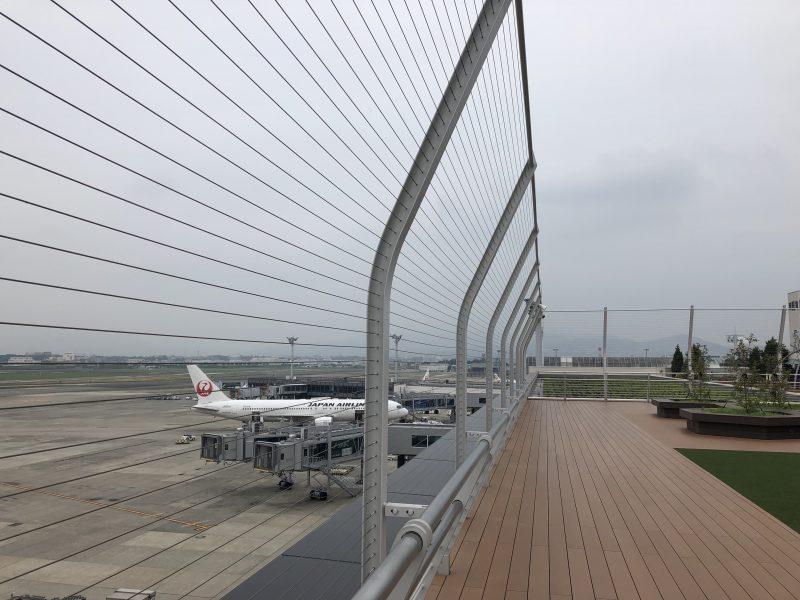 伊丹空港の展望デッキ