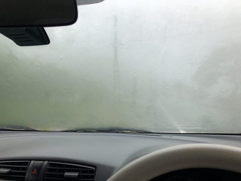 宇検村で豪雨に遭遇