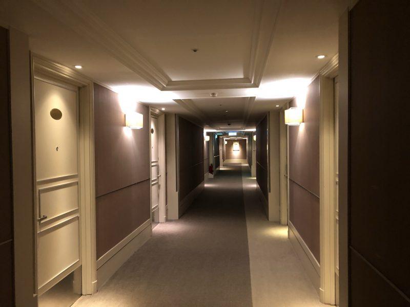 ホテル・ロイヤル・ニッコー・タイペイの廊下