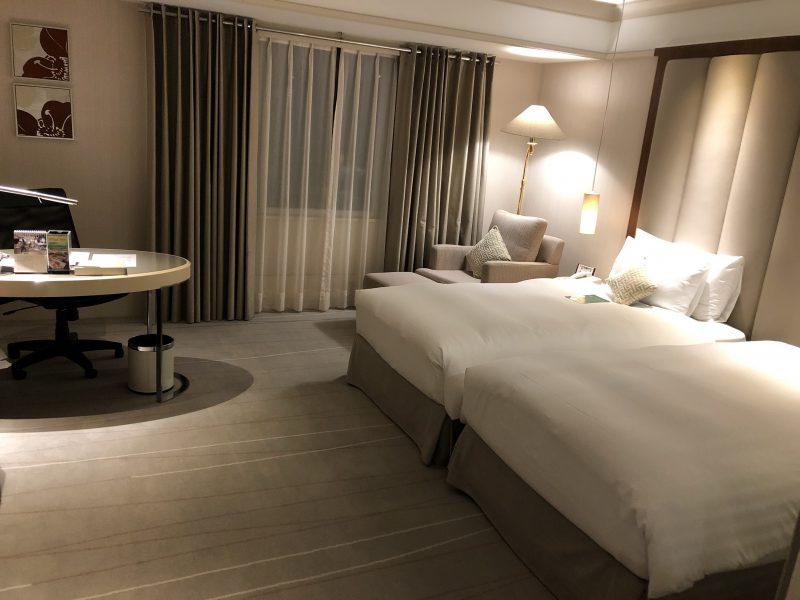 ホテル・ロイヤル・ニッコー・タイペイの部屋