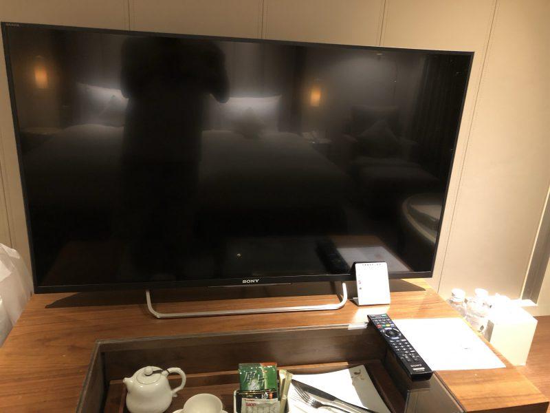 ホテル・ロイヤル・ニッコー・タイペイのテレビ
