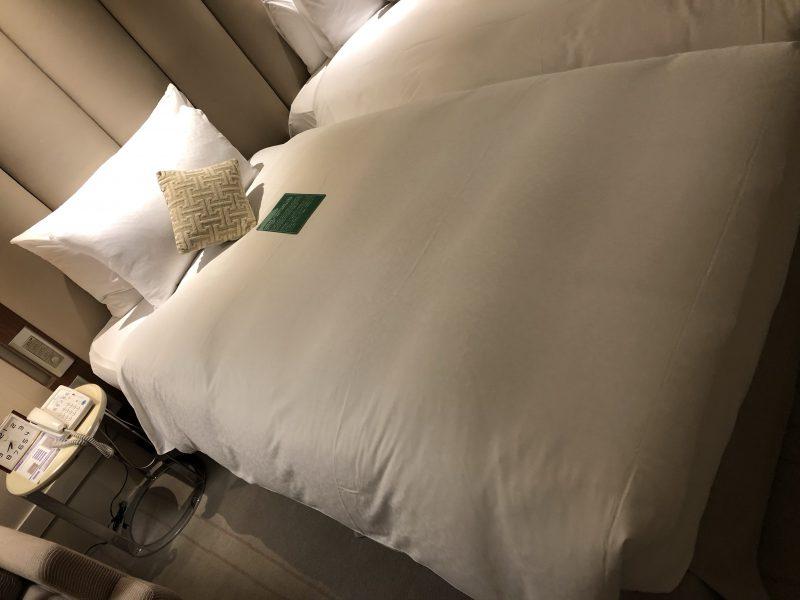 ホテル・ロイヤル・ニッコー・タイペイのベッド