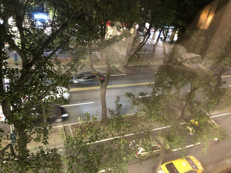 ホテル・ロイヤル・ニッコー・タイペイの眺め