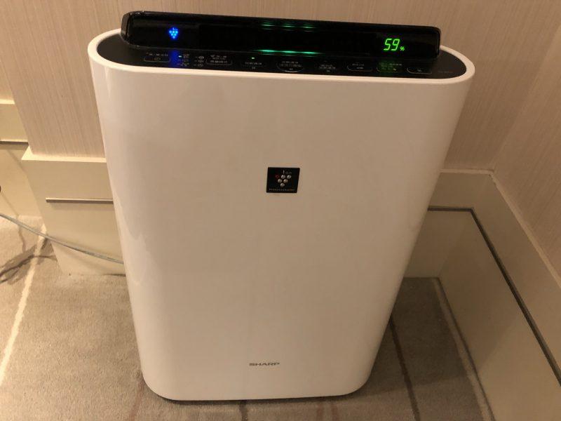 ホテル・ロイヤル・ニッコー・タイペイの空気清浄機