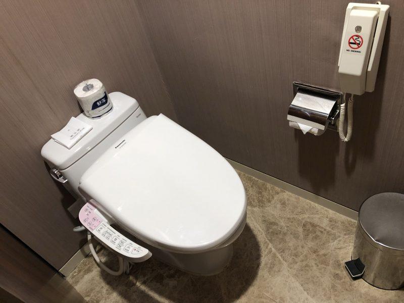 ホテル・ロイヤル・ニッコー・タイペイのトイレ