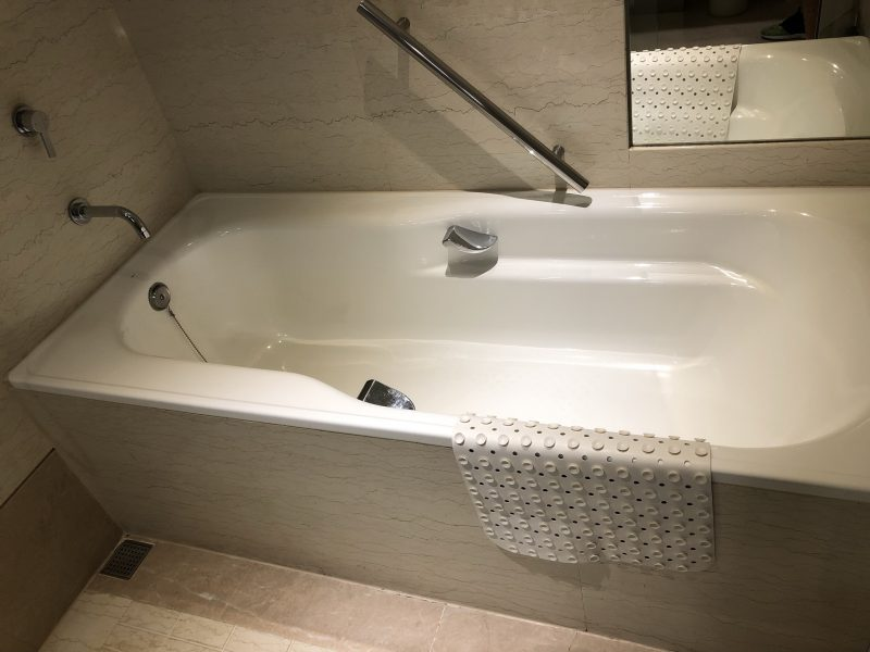 ホテル・ロイヤル・ニッコー・タイペイのバスタブ