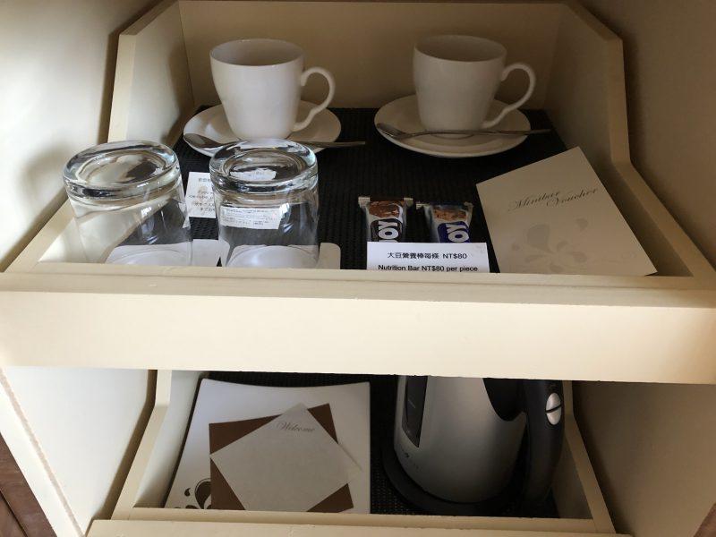 ホテル・ロイヤル・ニッコー・タイペイのお茶やコーヒー