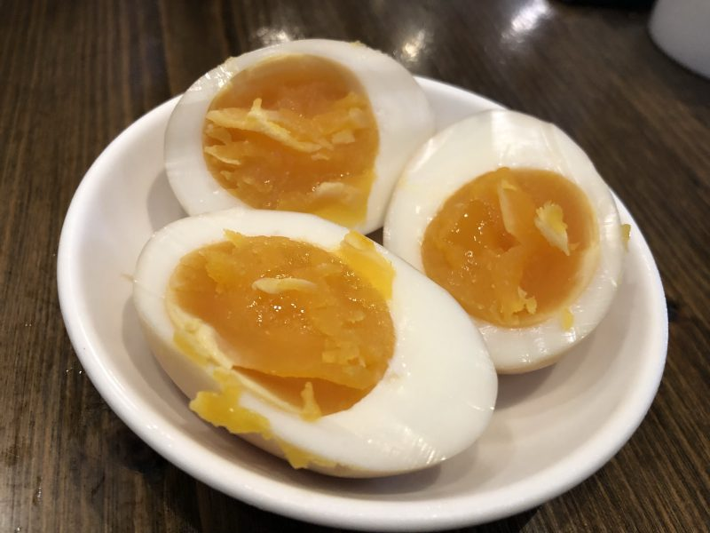 麻膳堂の煮卵
