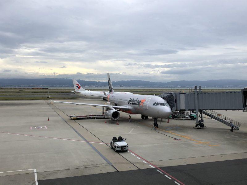 高知グルメ旅行記3日間【2019年10月】ジェットスターの機体