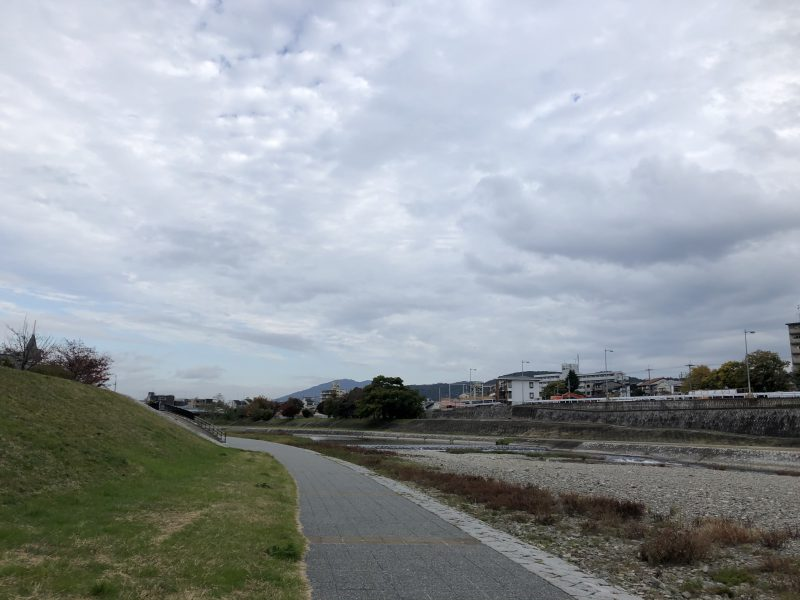 大阪から京都までの淀川サイクリングコース
