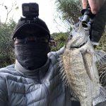 チヌ狙い奄美大島の釣り旅行記【2020年3月】の宇検村のチヌ