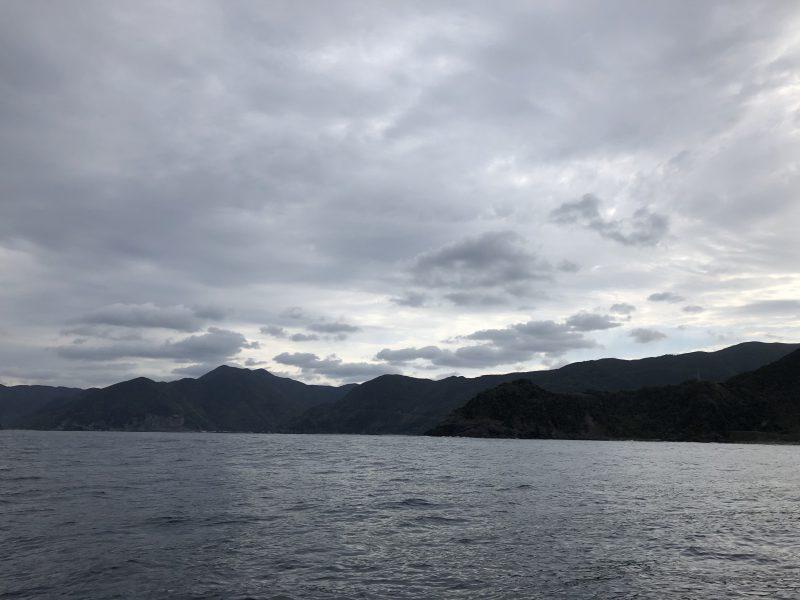 チヌ狙い奄美大島の釣り旅行記【2020年3月】の船から