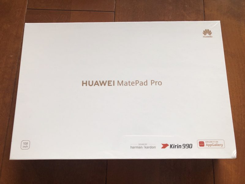 MatePad Pro Wi-Fiモデル MRX-W09
