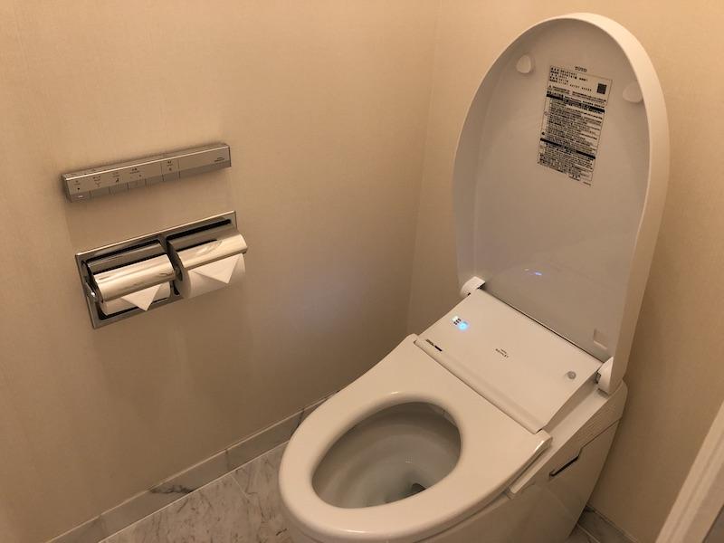 ザ・リッツカールトン大阪のトイレ