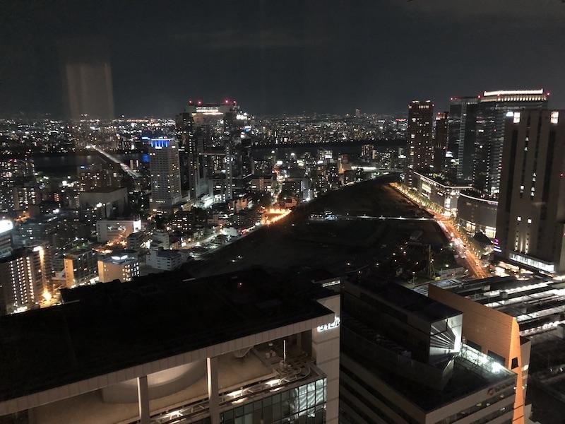 ザ・リッツカールトン大阪の夜景