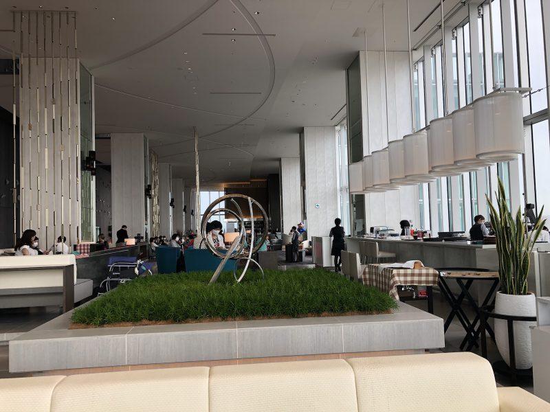 大阪マリオット都ホテルのロビー